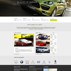 Car In Website