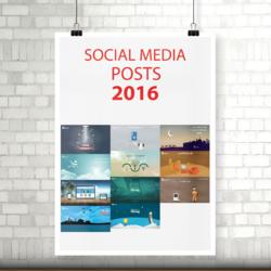 Social Media Posts 2016