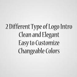 2 - Logo Intro