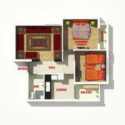 Apartment Interior's concept