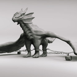 Sculpting a Dragon in ZBrush