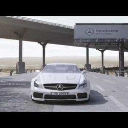 My 3D Animation - 3D Mercedes SL65 AMG Black Series