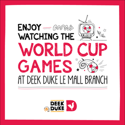 deek duke design for social media and coaster design