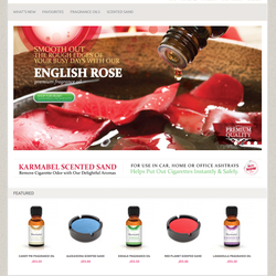 Karmabel Fragrances Website