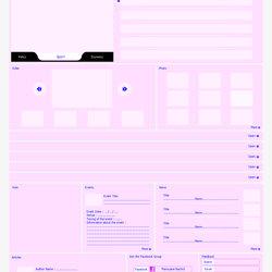 Nachid Web Site Design : colors