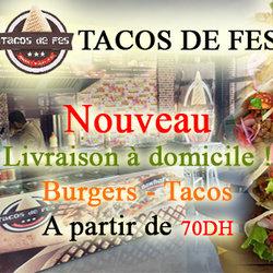 تصميم غلاف صفحة الفايسبوك لمطعم طاكوس فاس