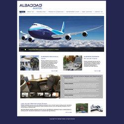 Website User Interface layout
