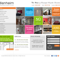 Blenheim Bedrooms and Home offices