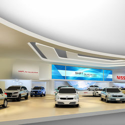 booth - nissan