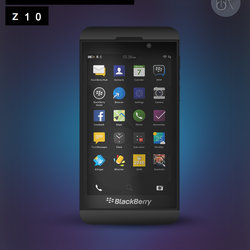 Blackberry Z10 design