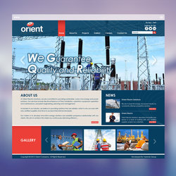 Orient for Energy/ Website