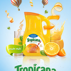 Tropicana promotional AD