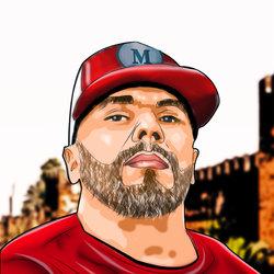 رسمة للفنان المغربي (مسلم)