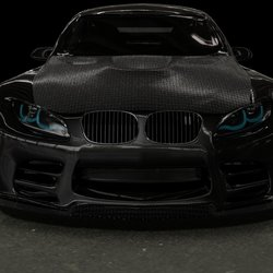 3ds max BMW GTR M3 2010