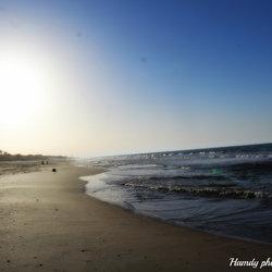 تصوير شاطئ مدينة العريش