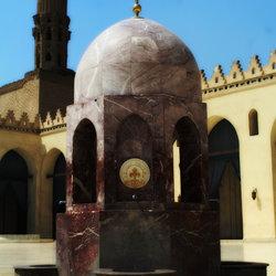 بئر الماء في مسجد الحاكم بأمر الله في المعز