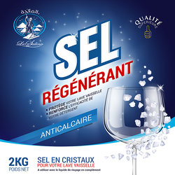 packaging la saline sel régénétant