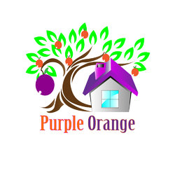 purple orange