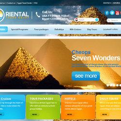 Oriental tours egypt