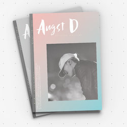 fan made magazine Agust D