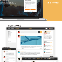SHOT Website design