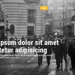 Multipurpose Theme PSD Template