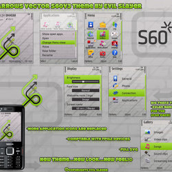 Arrows Vector S60v3 theme