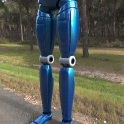 robot legs
