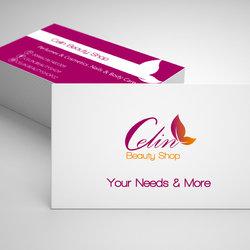 Celin beauty shop brand identity
