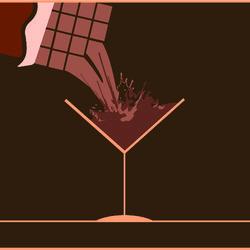 La la Land Chocolate Pub Opening Invitation