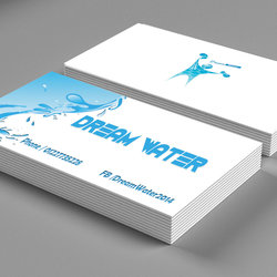business card dream water
