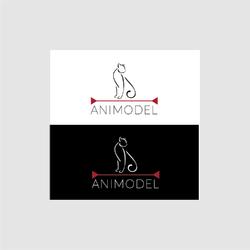Animal Modelling Agency Logo Design
