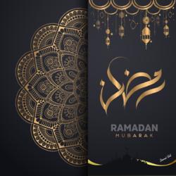 بوستر ديني (رمضان)