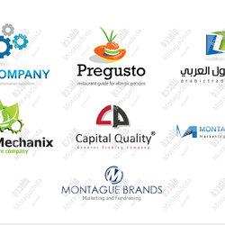 شعارات من تصميمي Logos