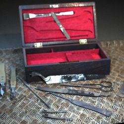 Tiemann post mortem set 1860
