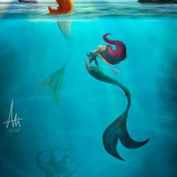 Two Mermaid