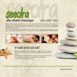 Seedra website design