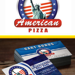 American pizza (Algeria branch) - Logo Redesign