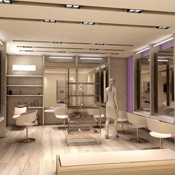 Interior design Ladies spa and saloon