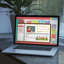 تصميم موقع الكتروني خاص بالأطفال