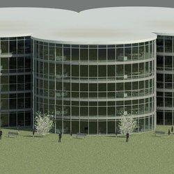 مشروع مبنى شركة عاليا الخضراء