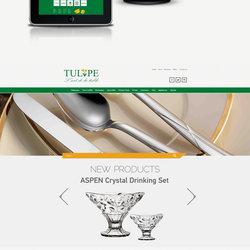 Tulipe Website Design