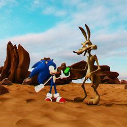 Sonic help Coyote