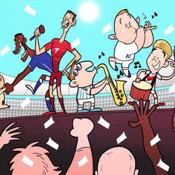كاريكاتير كأس العالم - Goal.com World Cup Cartoons
