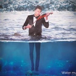 photoshop cc - Water musician - Manipulation (speed art)