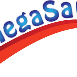 Mega save logo