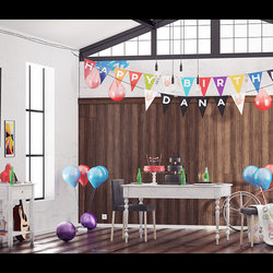 Interior - Happy Birthday Party