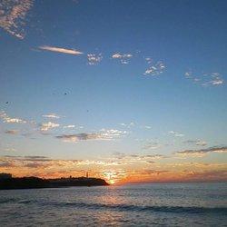 sunset in my beautiful city Larache in Morocco :)