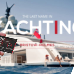 BRISTOW HOLMES | YACHT CARDS