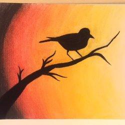 لوحة الطائر